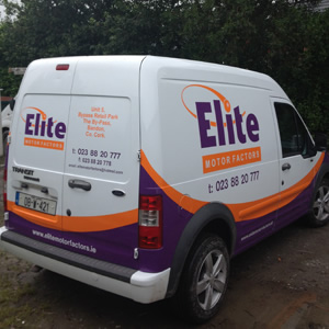Elite Van Back